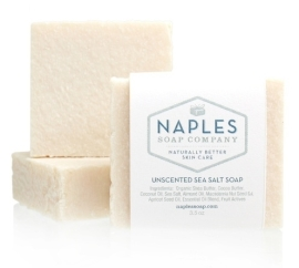 Unscented Sea Salt Soap