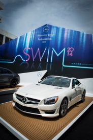 #MBFWSWIM Welcome Tent