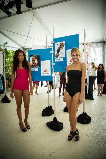 Models Sporting Jantzen Swimwear