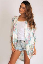 Arnhem Songbird Kimono