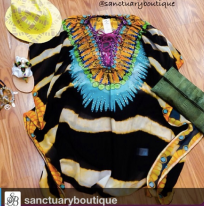 Sold at Sanctuary Boutique