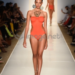 Sherbert one-piece. Photo by Getty Images.