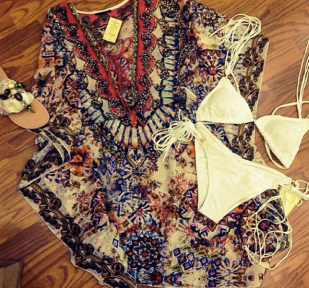 Perfect with a white 'kini - Sanctuary Boutique Photo from JBD New York Facebok page