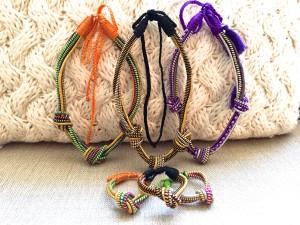 Love knot necklaces & bracelets