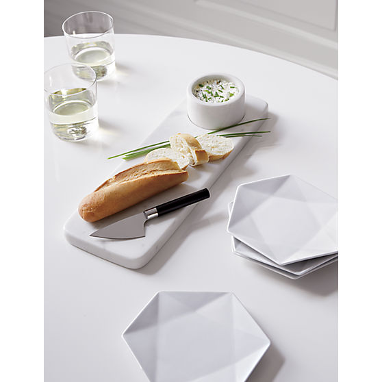 CB2 Marble Cheese Set